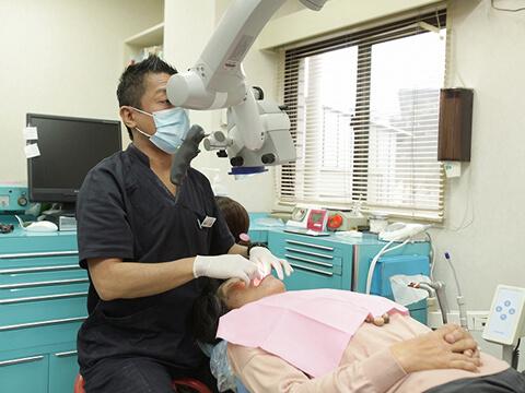 口腔内を全体的に守る治療方針